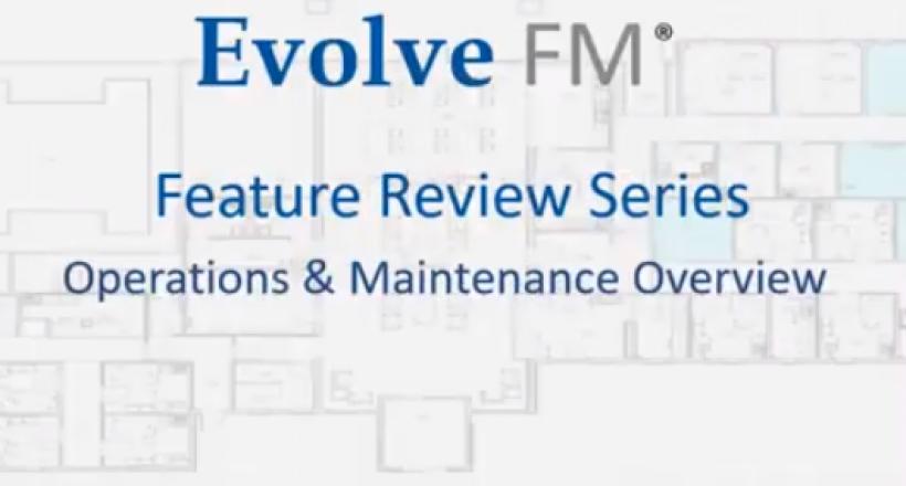 Maintenance Management Overview